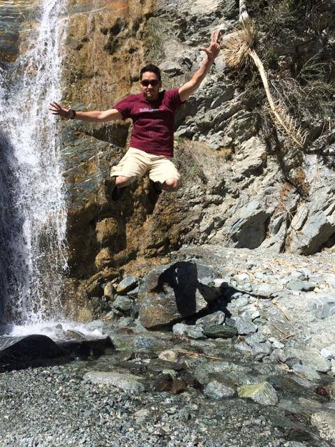 Joshua Draper hiking in Black Star Canyon