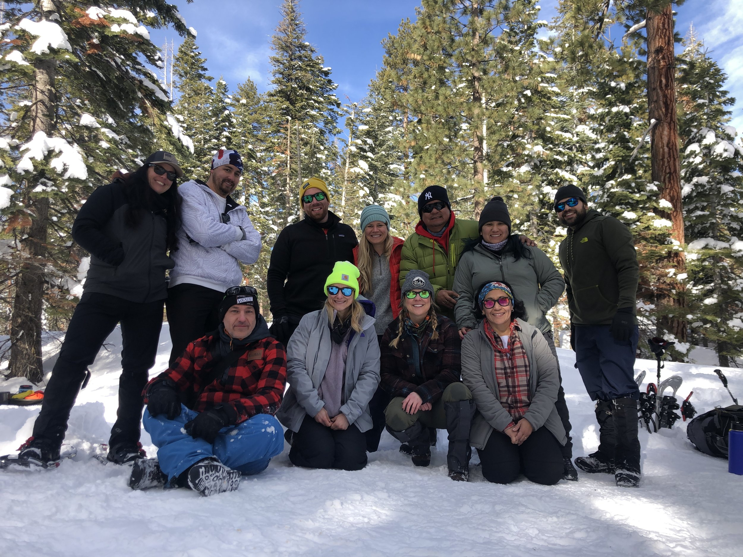Happy crew from our most recent backpacking adventure