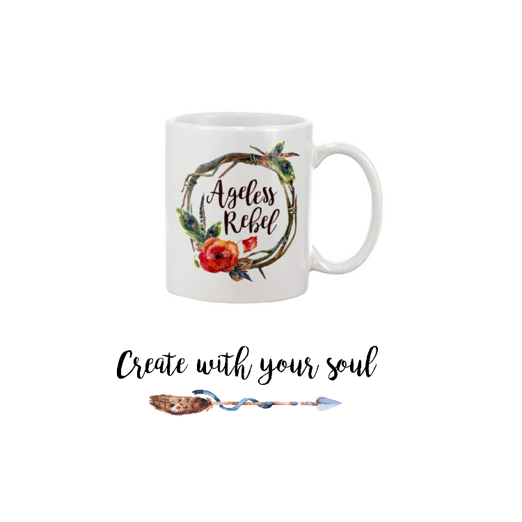 Rebel Mantra Mug.  BUY NOW