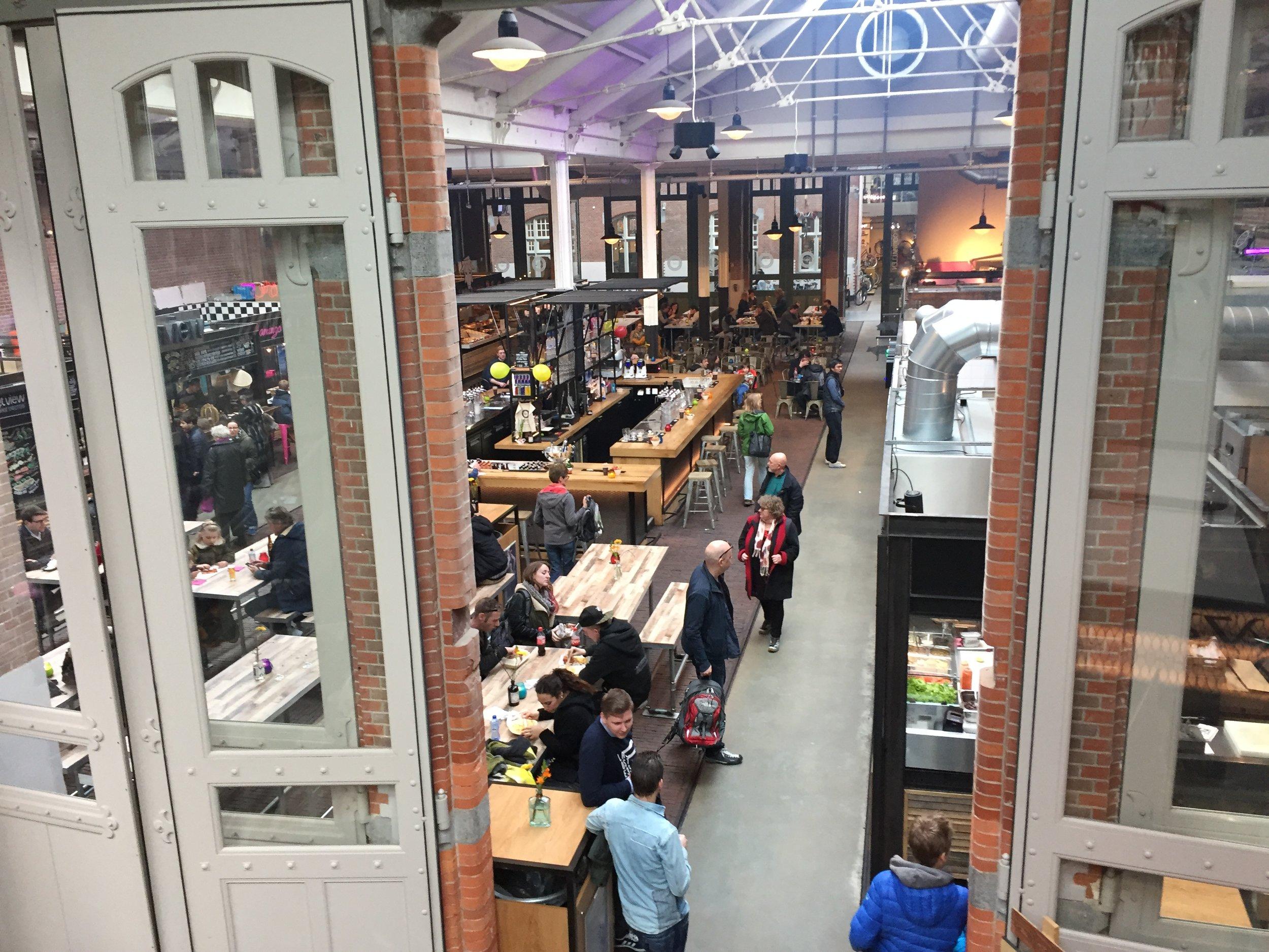 Amsterdam's Foodhallen.