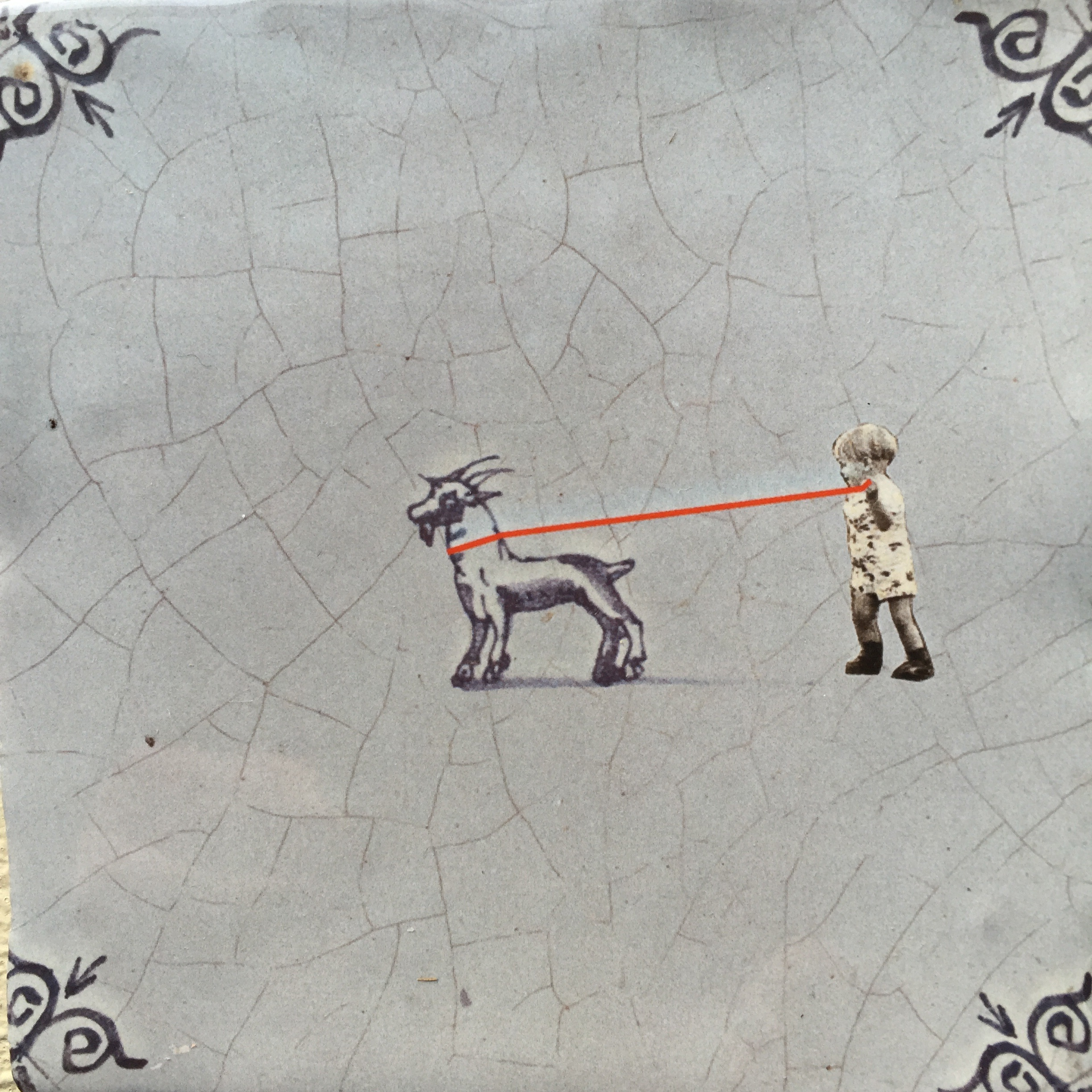 """Walking the goat"" – the original StoryTile."