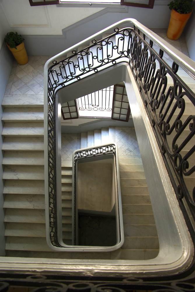 Entrance to Galerie de L'Aimance