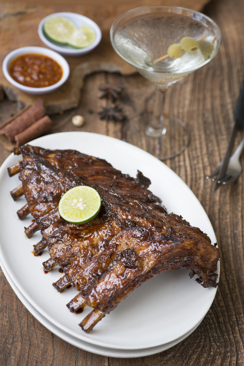 Naughty Nuri's barbeque ribs