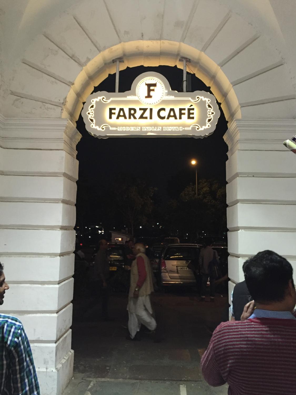 Farzi Cafe in Delhi's Connaught Place.