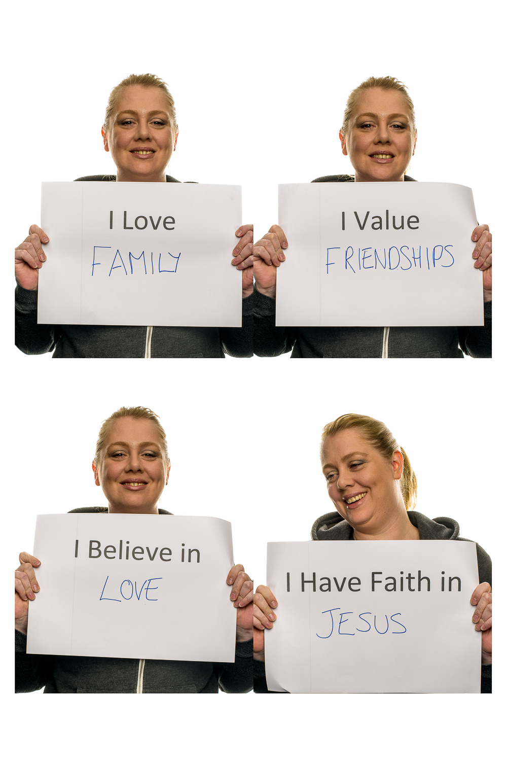 Images from the series  Believe In