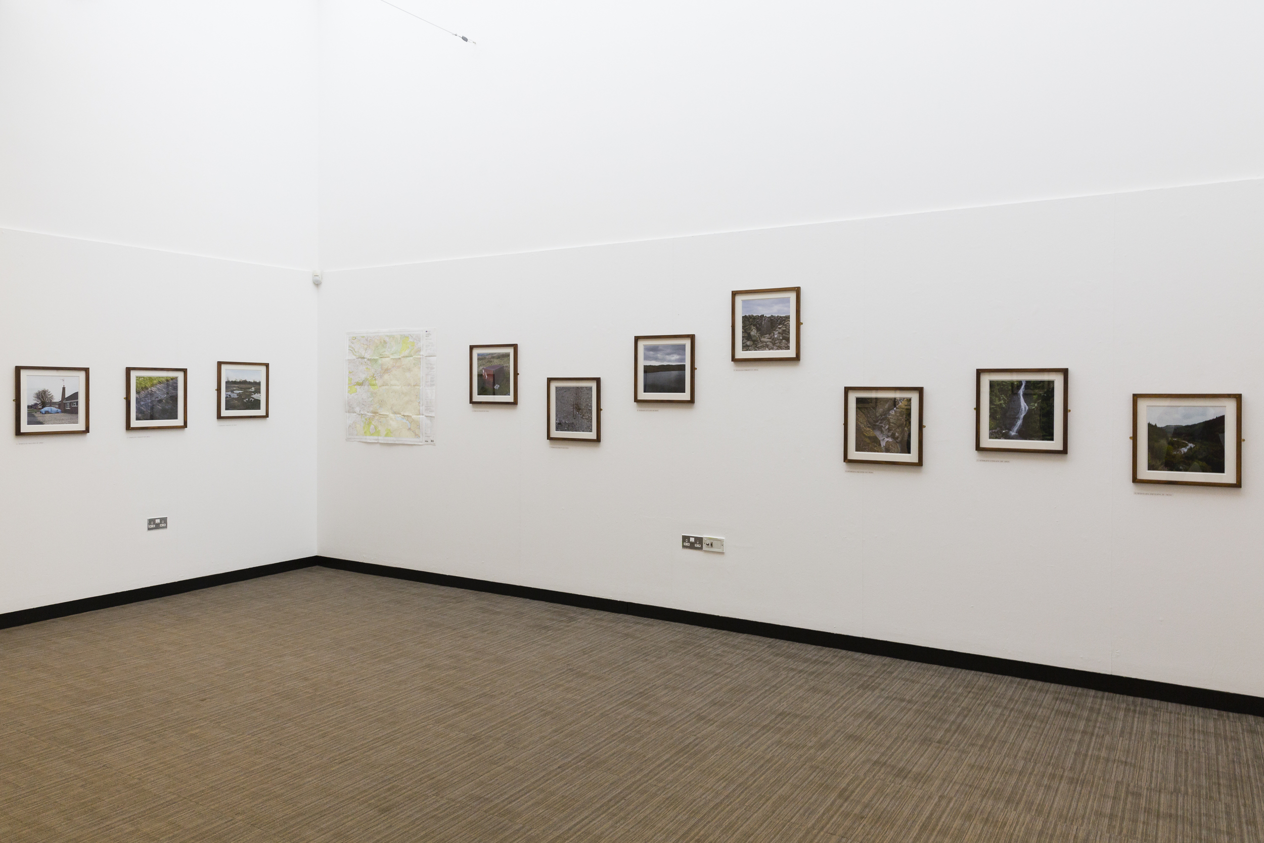 Above images: Meridian  exhibition