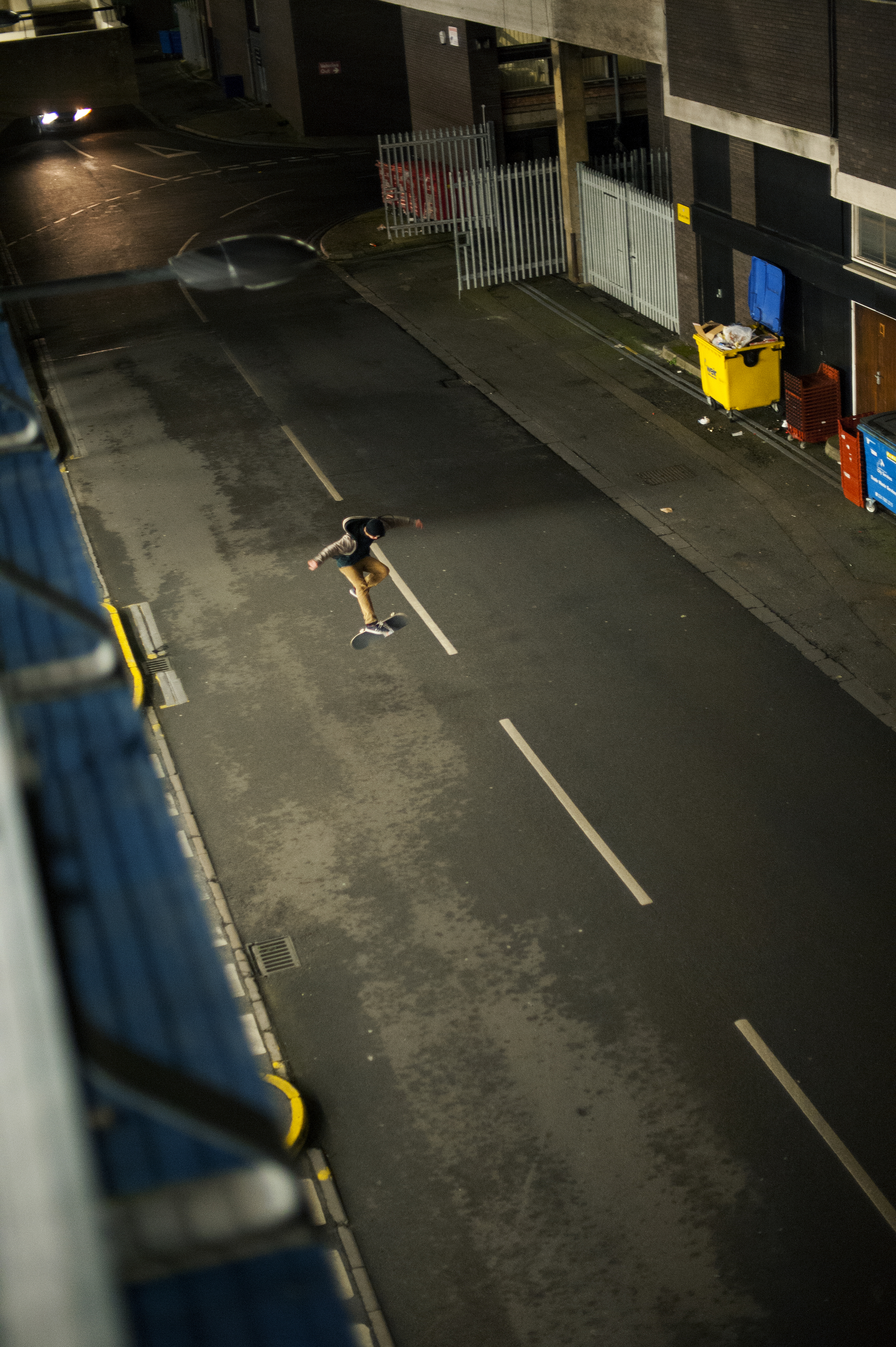 From the series   Confinement of Skateboarding