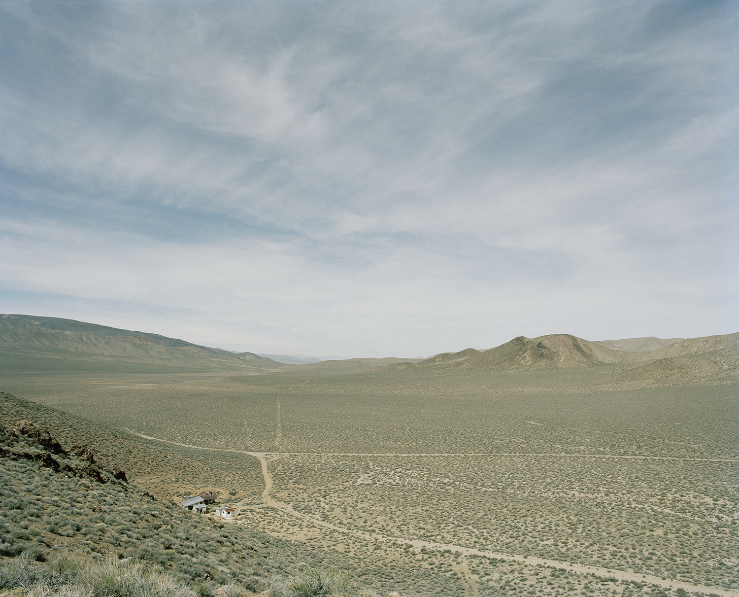 The Aguereberry site, Panamint Range, Inyo County, California  from the series   What makes grass grow in the desert