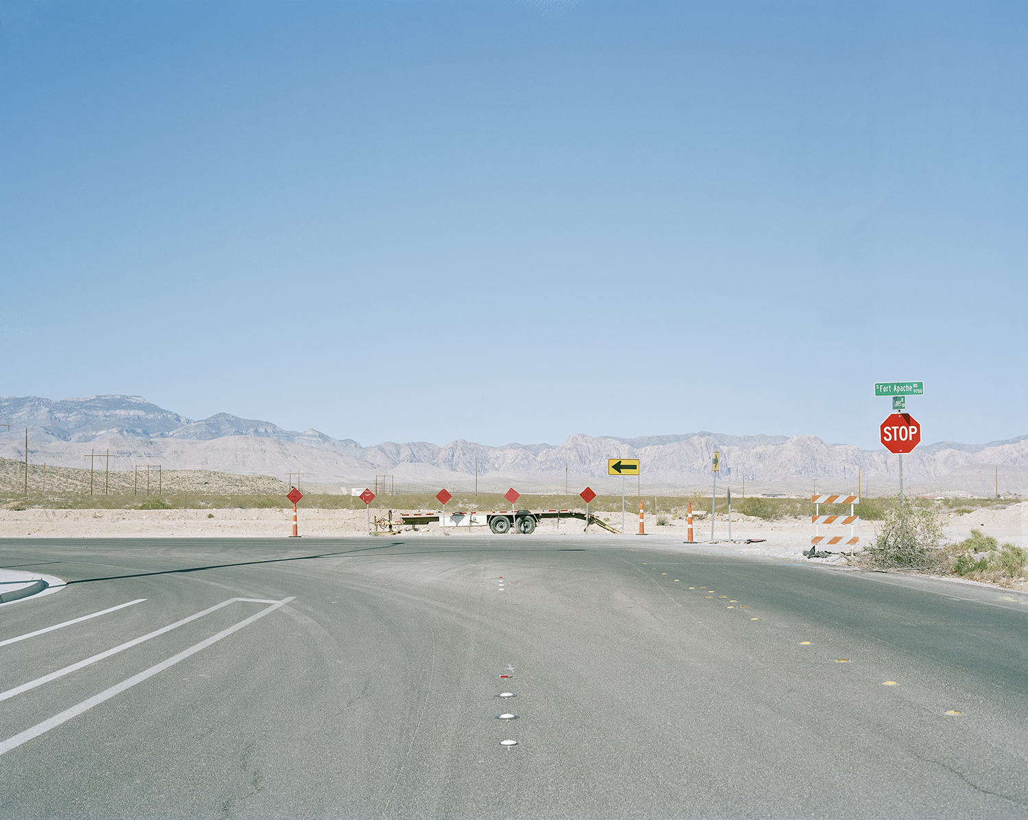 Fort Apache, Sage Canyon, Las Vegas  from the series   What makes grass grow in the desert