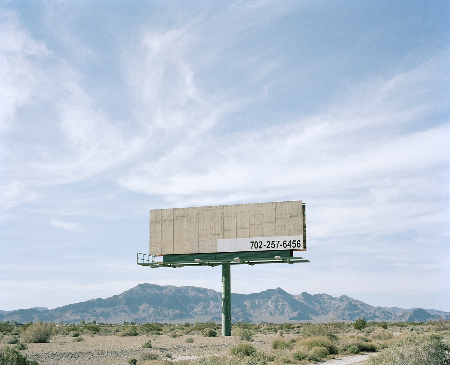 Pahrump, Nevada  from the series   What makes grass grow in the desert