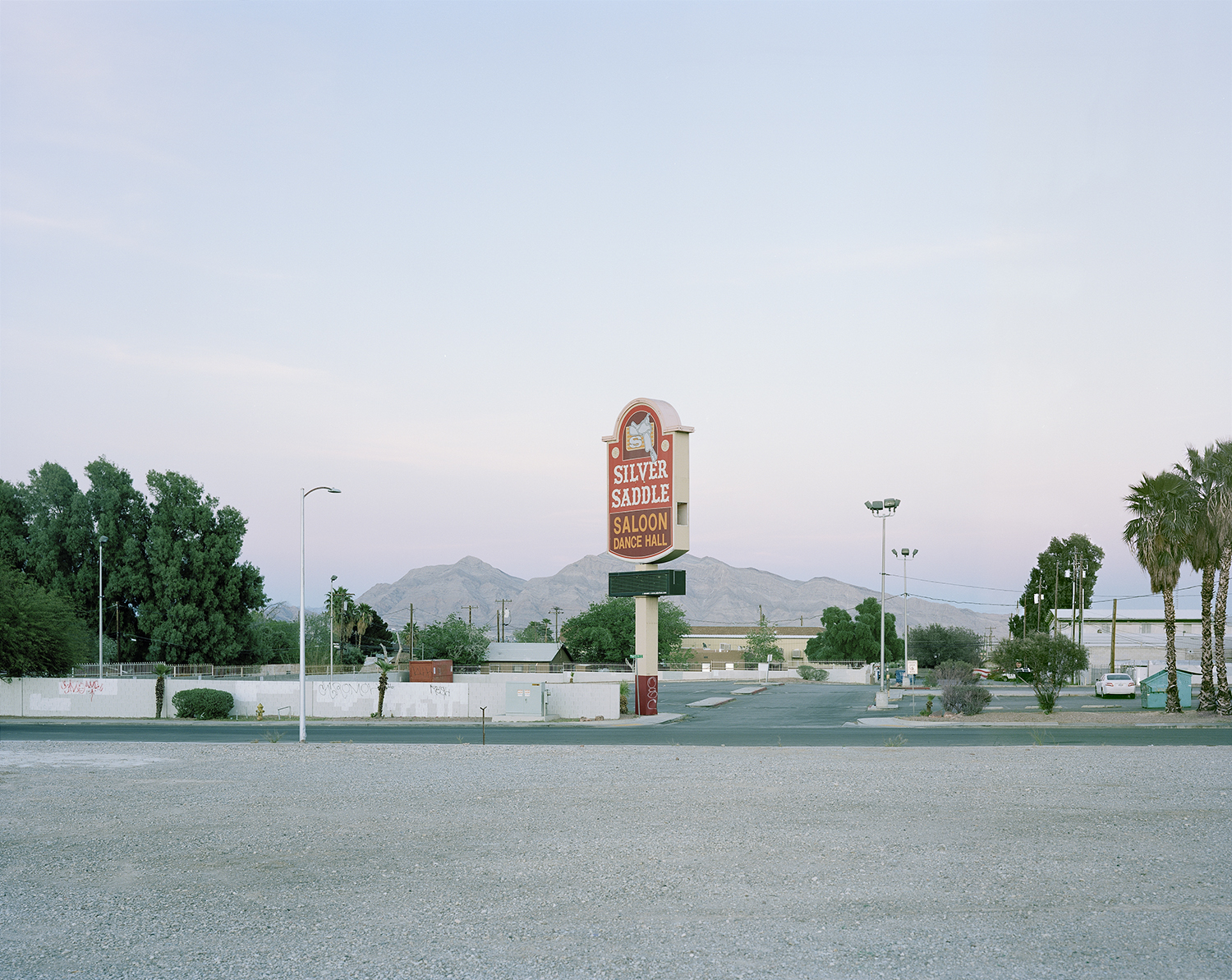 Silver Saddle Saloon Dance Hall, Charleston, Las Vegas  from the series   What makes grass grow in the desert