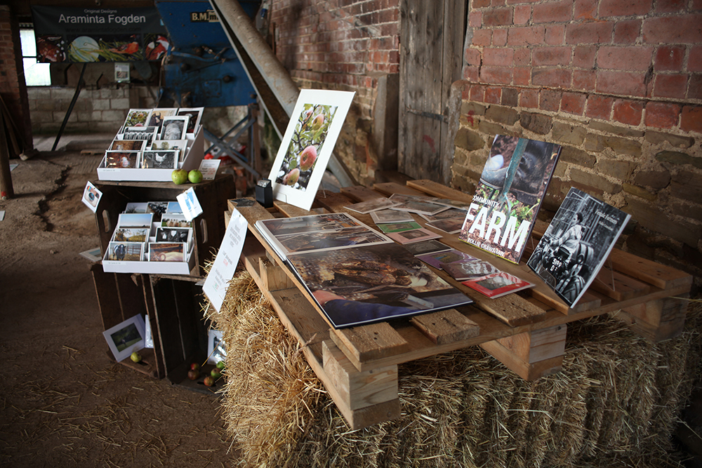 Photography cards and prints were on sale. My photo books were also displayed to view