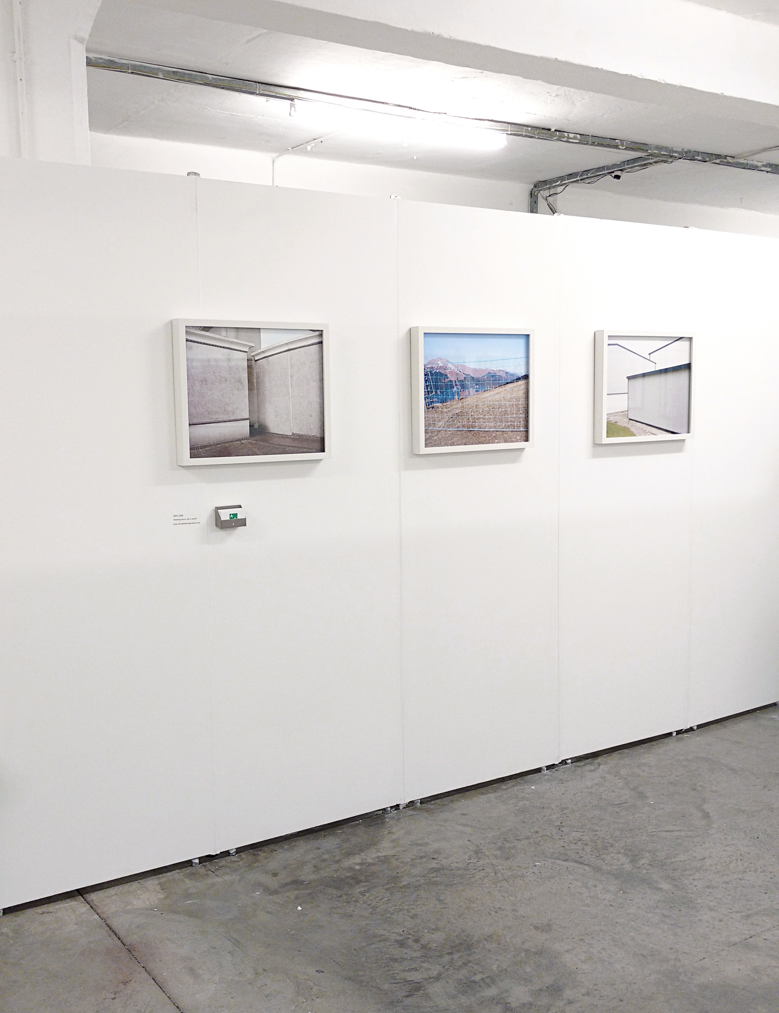 Images from the series,  Nothing here's set in stone  on show at  Free Range 2016 .