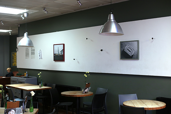 Heimr exhibited at Exeter Phoenix for Unveil'd Open  by Matthew Broadhead