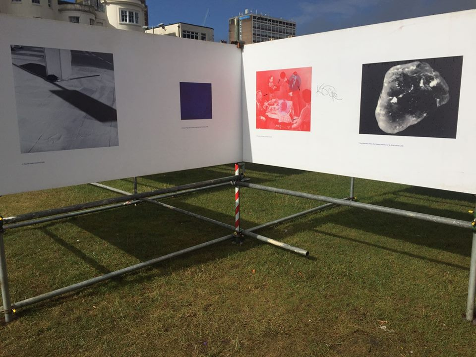 Installation image of     They Were My Landscape   at Brighton Photo Fringe