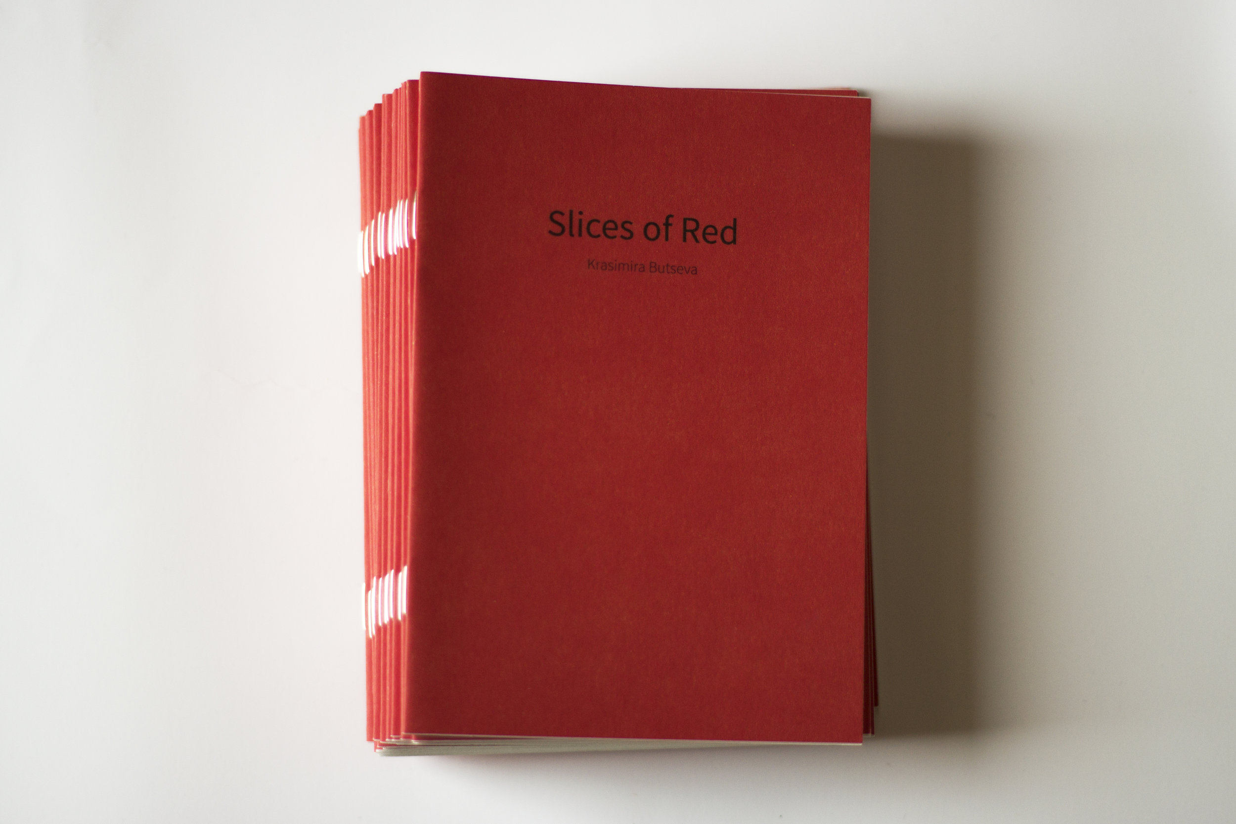 Slices of Red  photobook