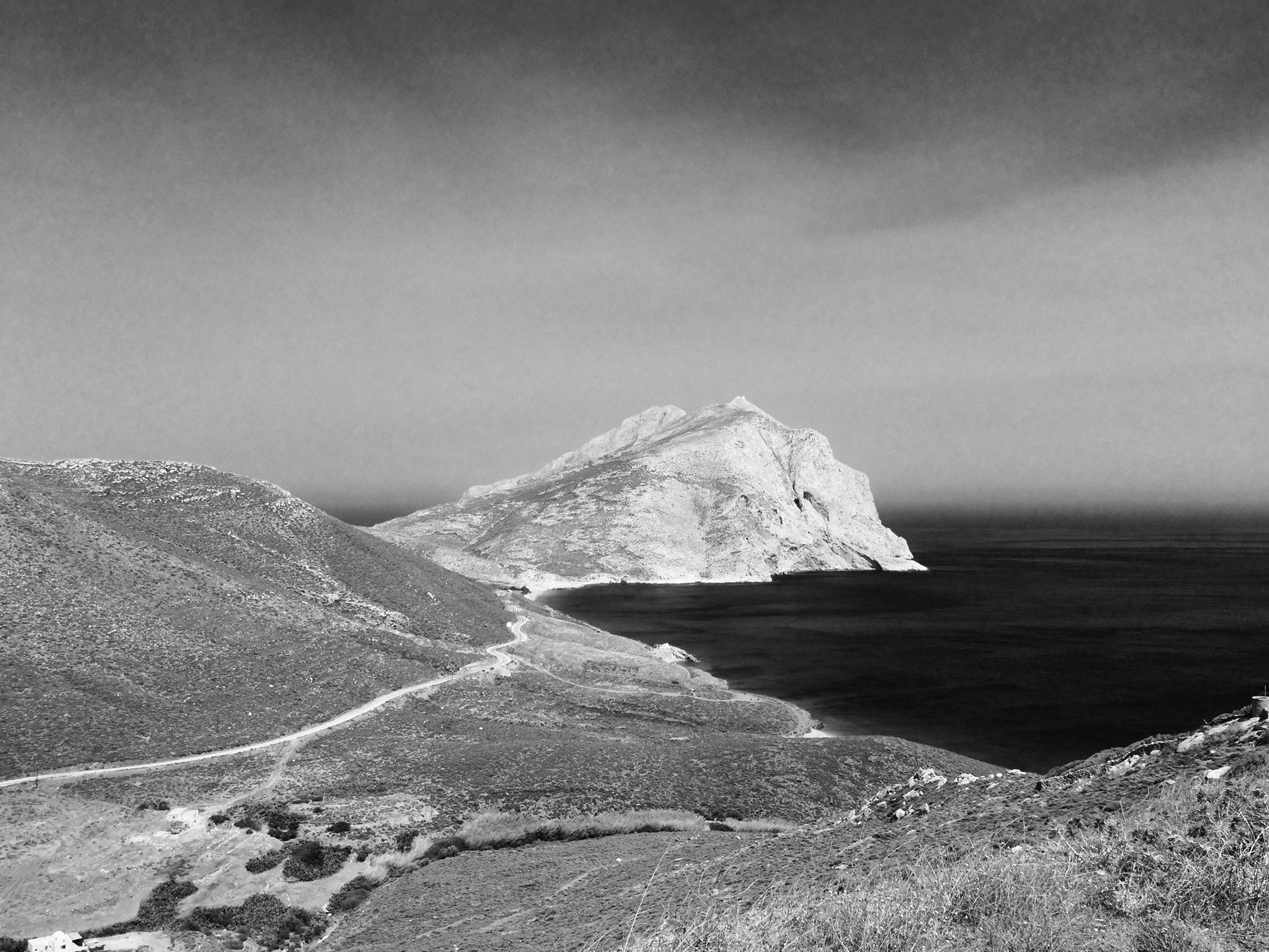 Kalamos Rock , Anafi, the Cyclades, 2016