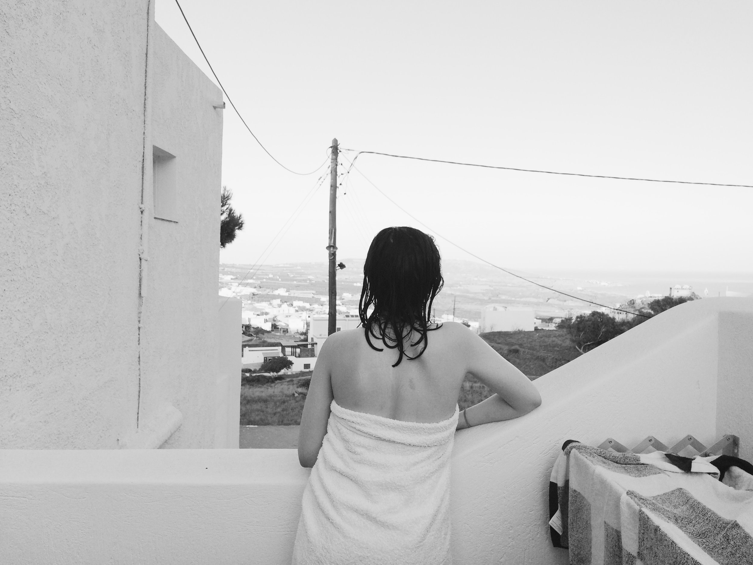 Observing Santorini , Anafi, the Cyclades, 2016