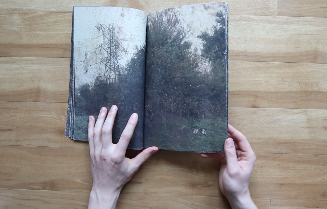 Inhabiting Edgelands  a photobook