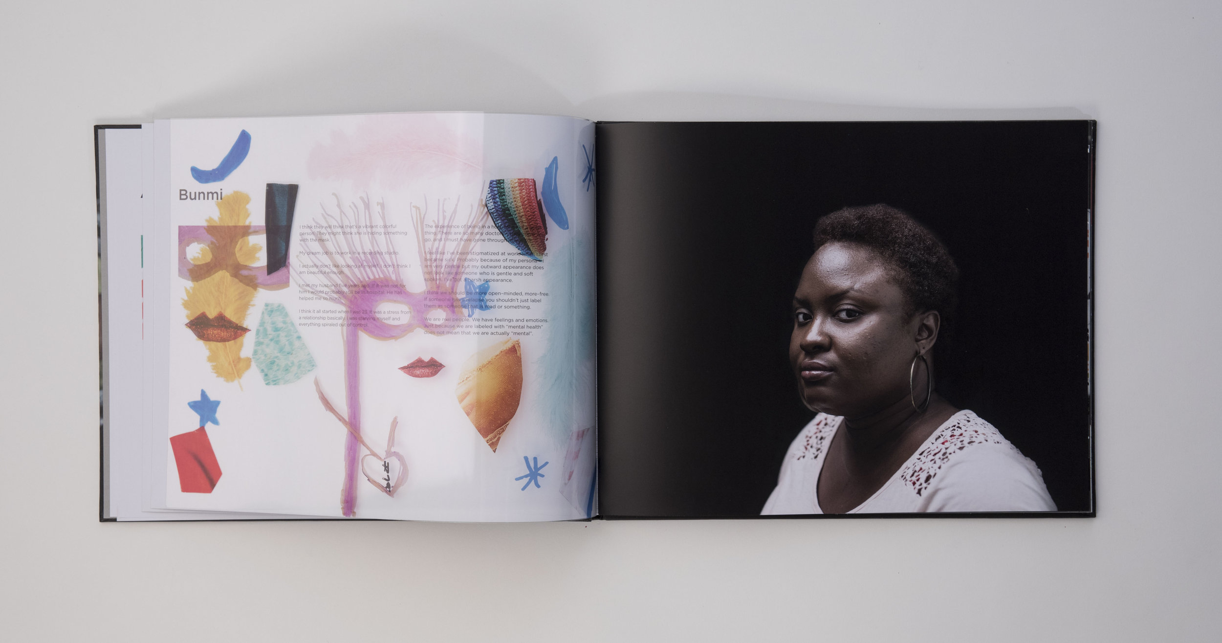 Behind the I – a portrait of the mind  photobook