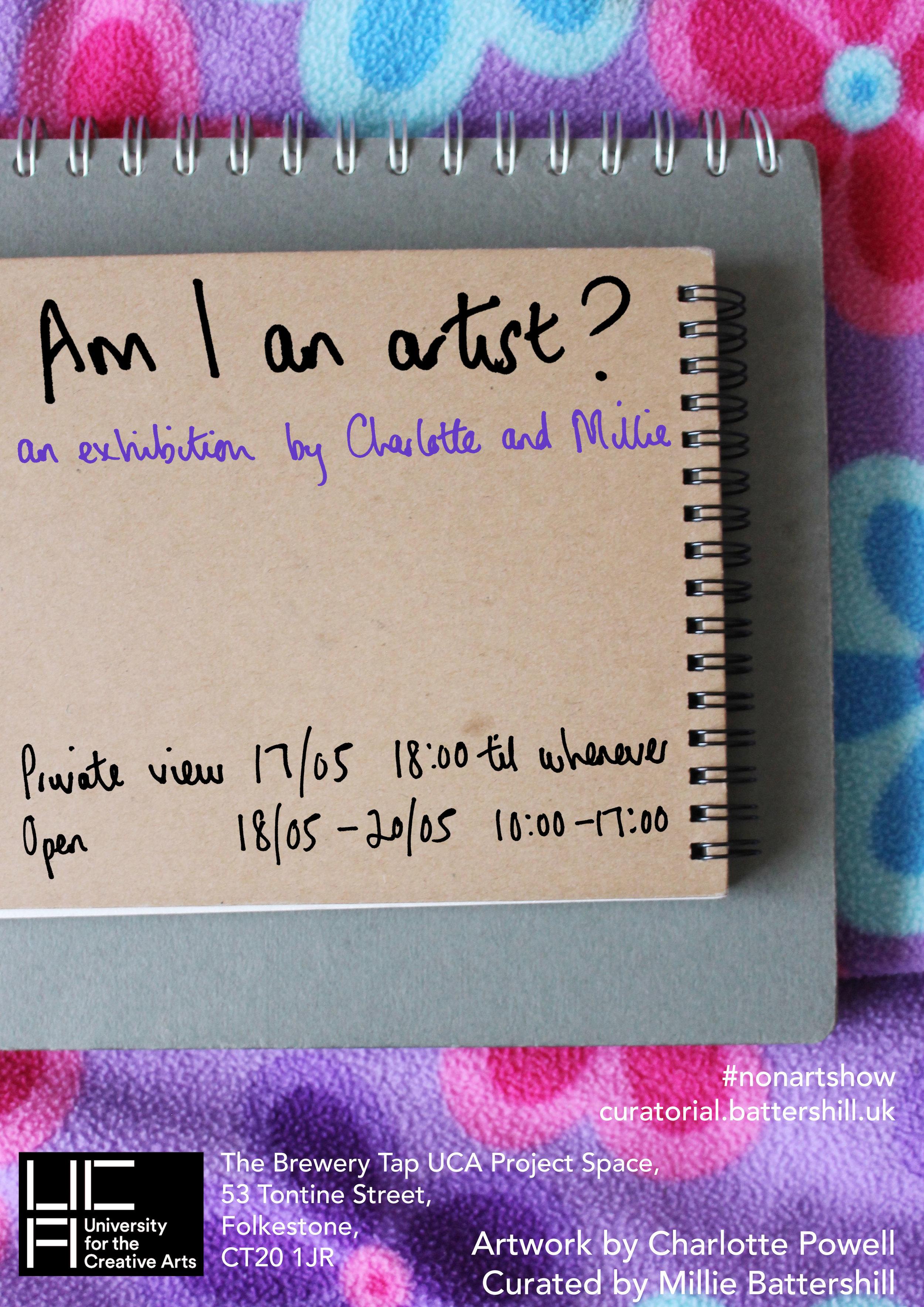 Am I an Artist poster.jpg
