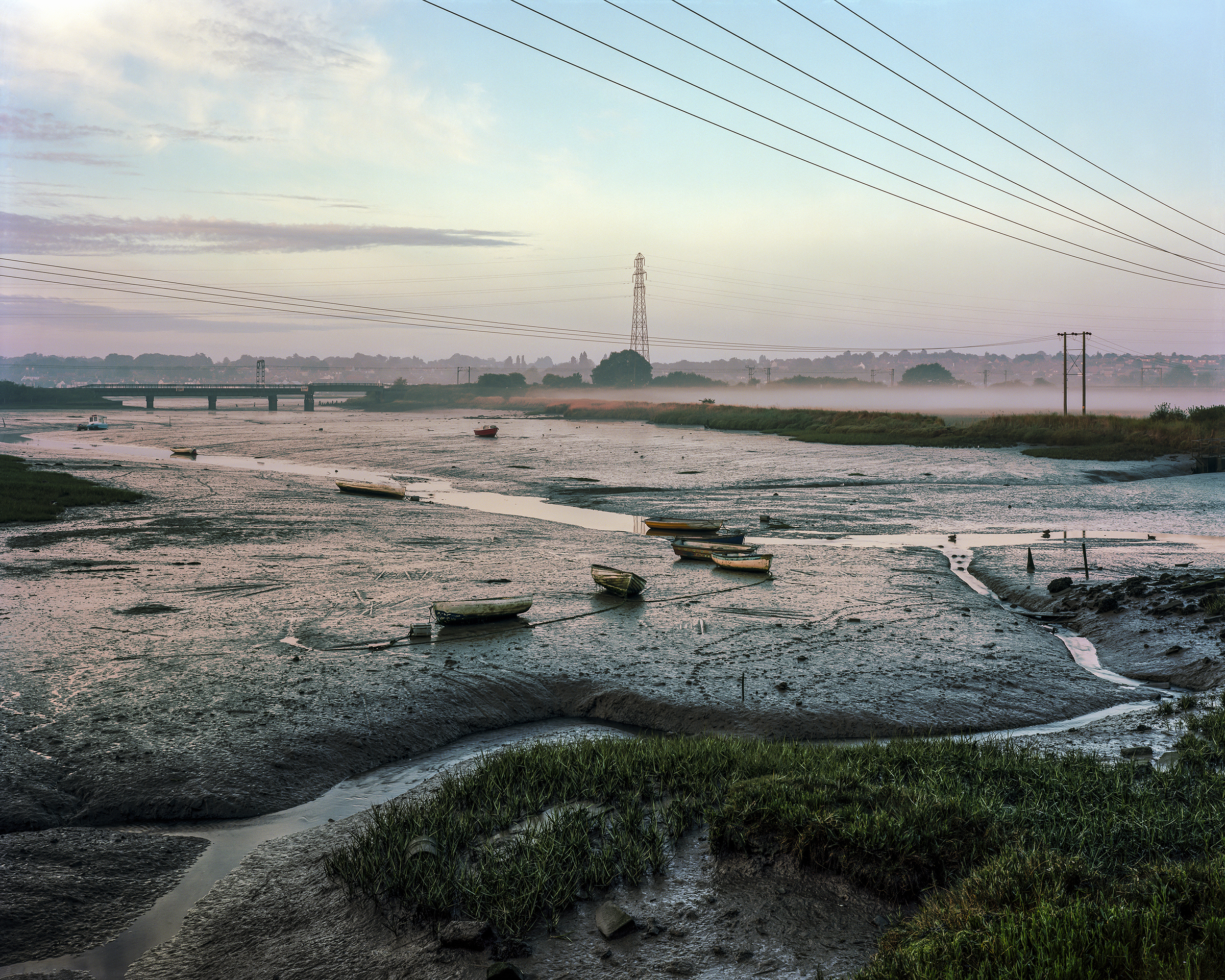 Cattawade Creek  from the series  Estuarine Mud  by  Tom Owens