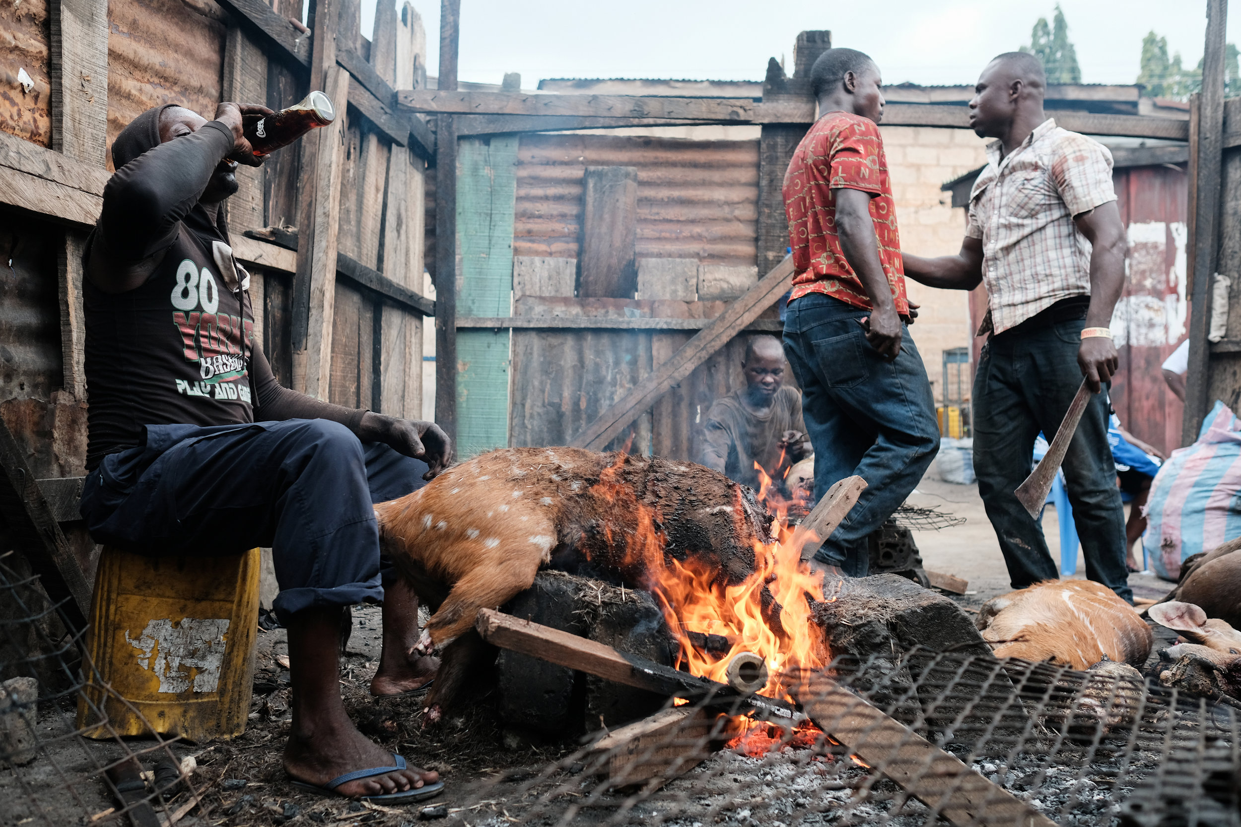 Inside Ghana's biggest bushmeat market  by Nyani Quarmyne / published on  mosaicscience.com / Credit: Nyani Quarmyne / Panos Pictures 2016