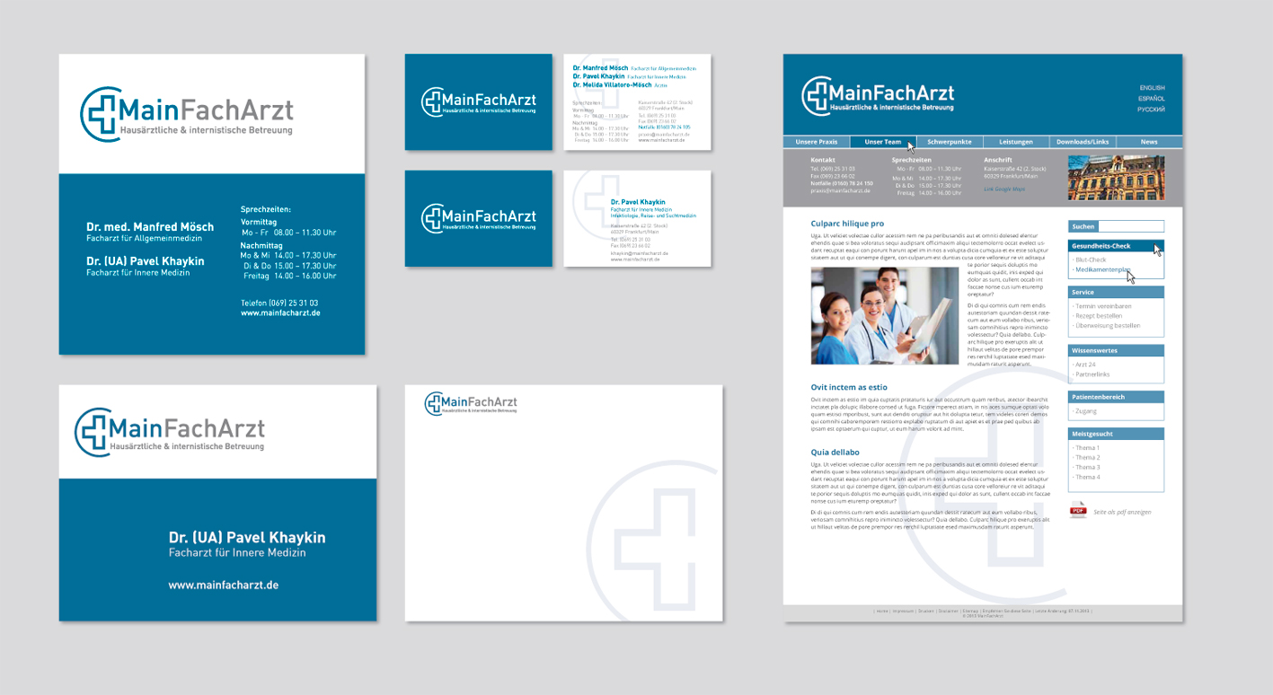 Corporate Design Kummerdesign