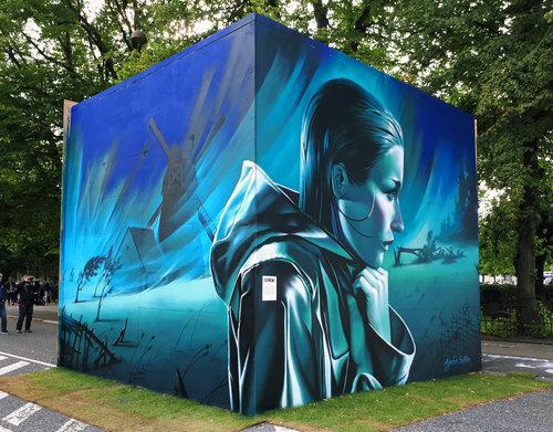 Copy of Street art-udsmykning