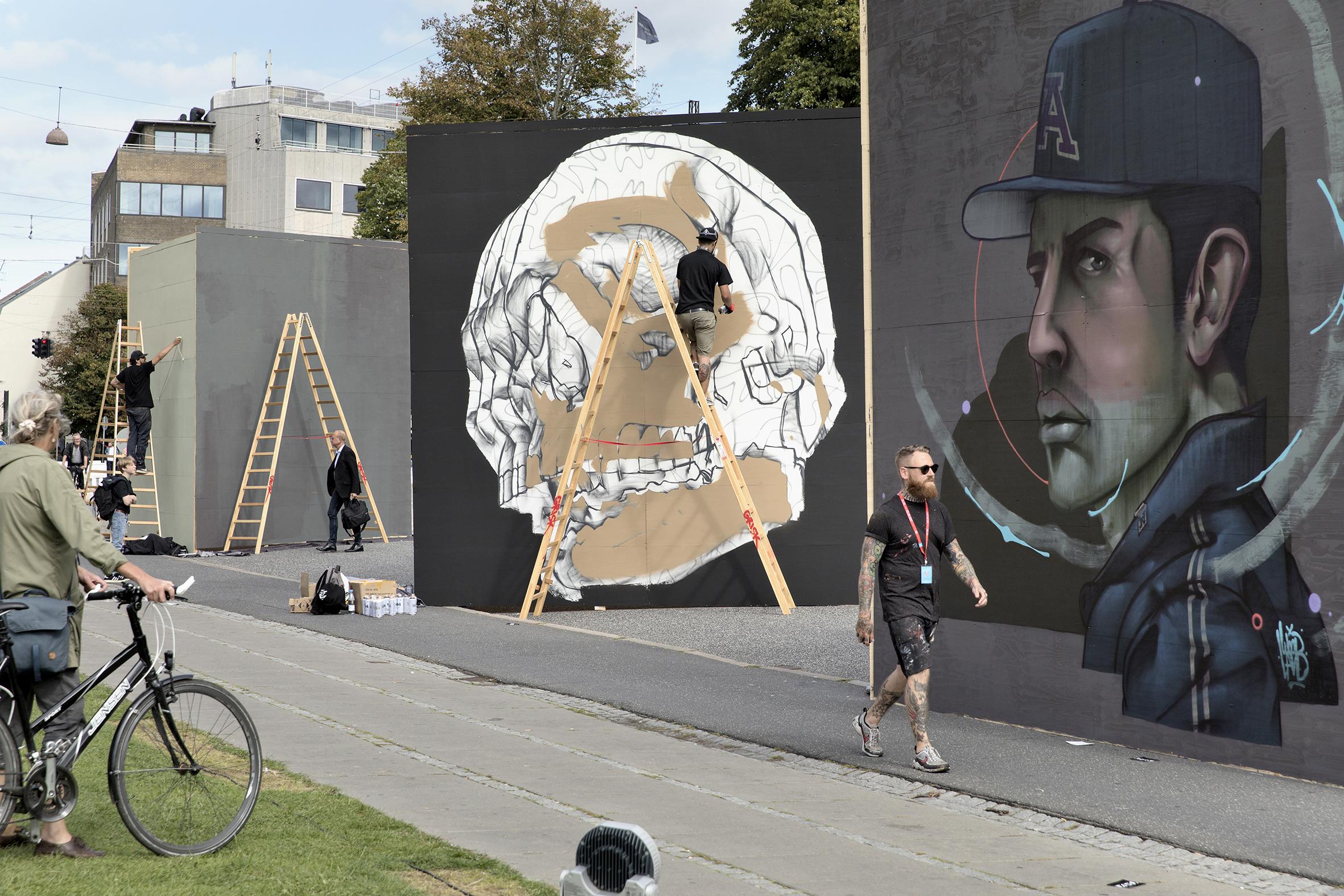 Street art-festival