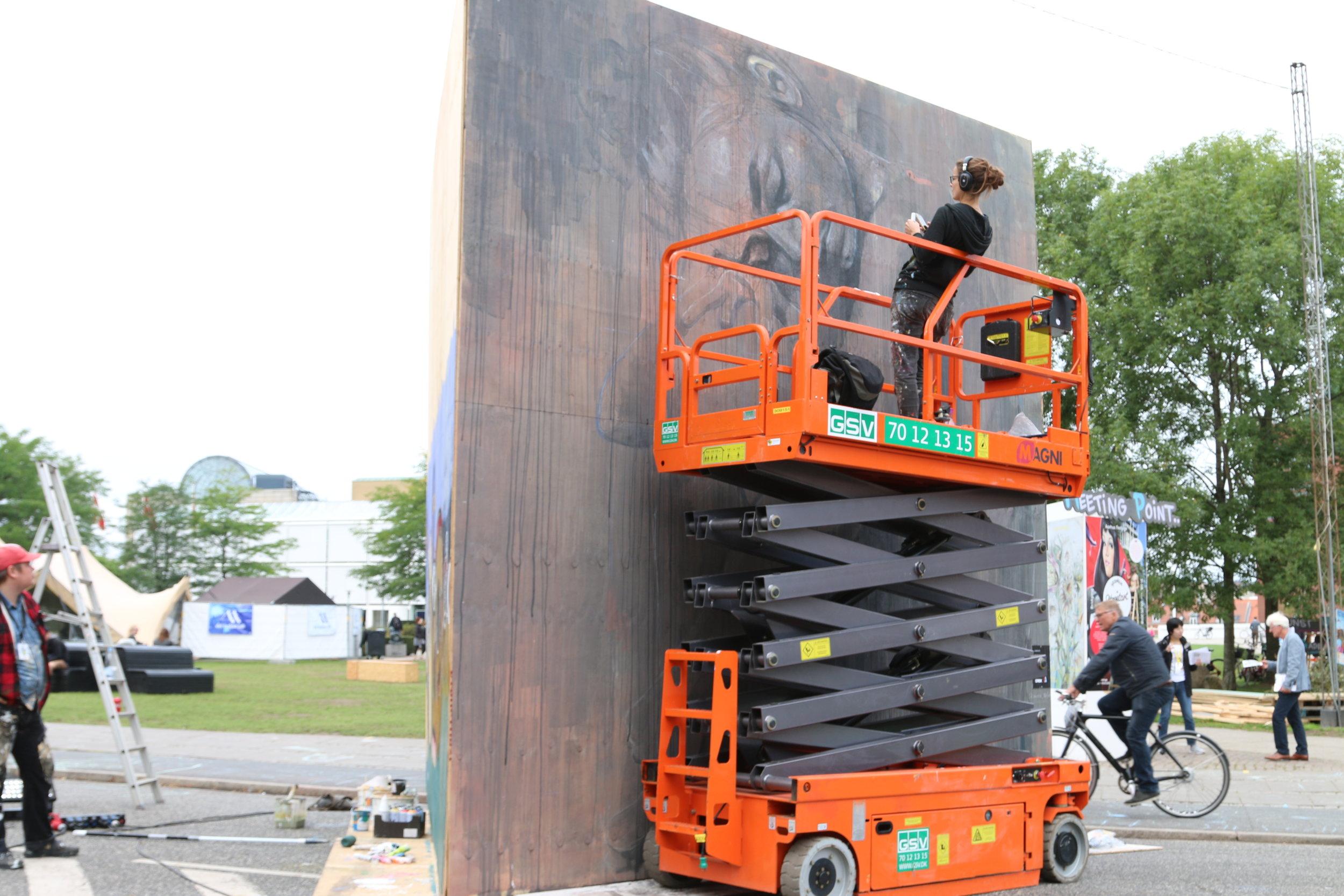 Aarhus Street art-festival -