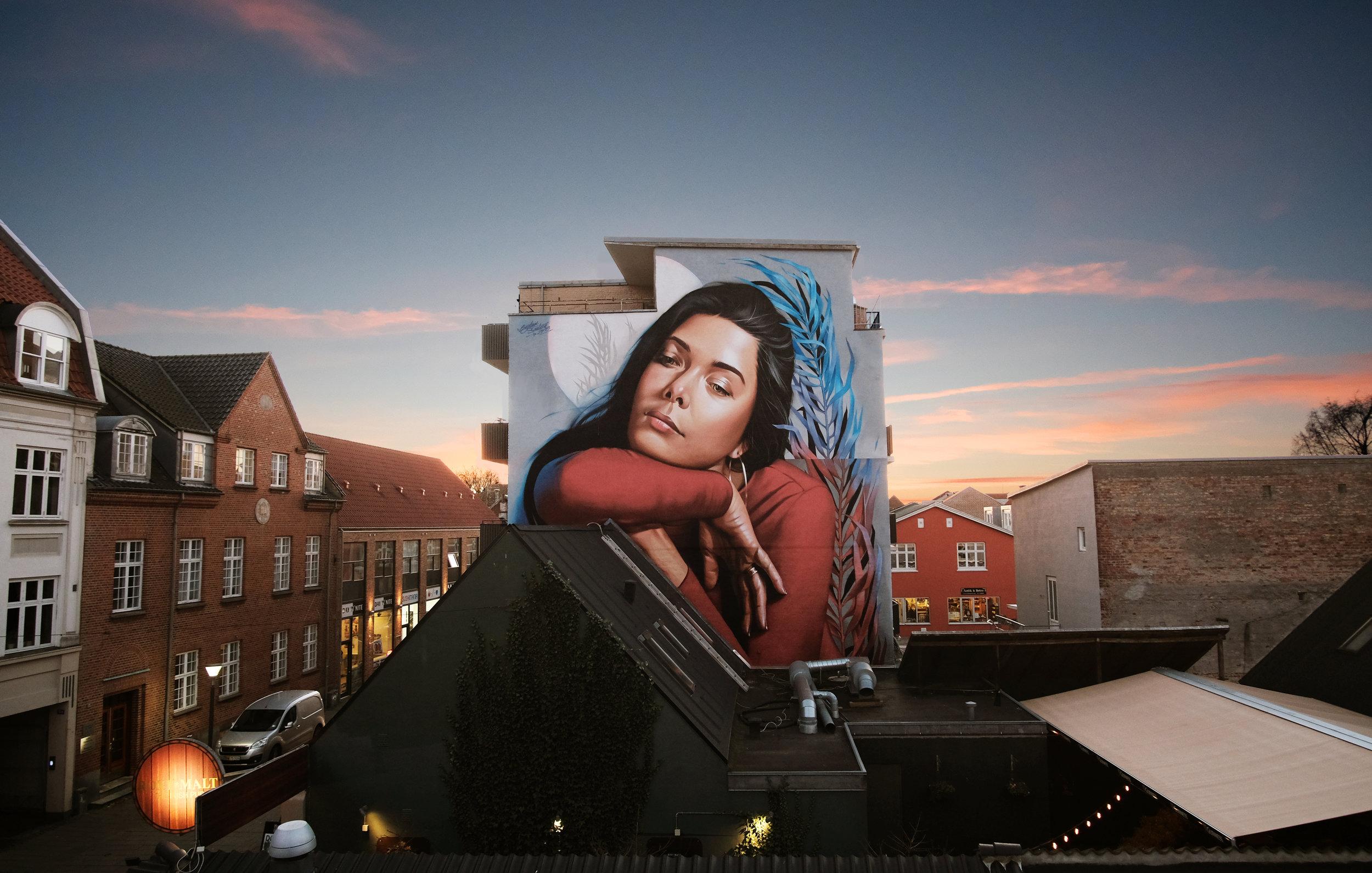 Street art Silkeborg Nygade 2018.jpg