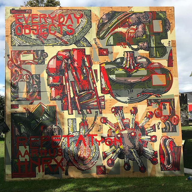 Flere flotte værker fra årets @aarhusfestuge i Street Art Festivalen 🎨  #Kunst #Udstilling #Exhibition #Aarhus #Festuge #AarhusFestuge #StreetArt #WallArt #Art #Creative #Artist #Graffiti #Maling #Paint #Festival #Colors #ArtWork #Kunstnere #Photo