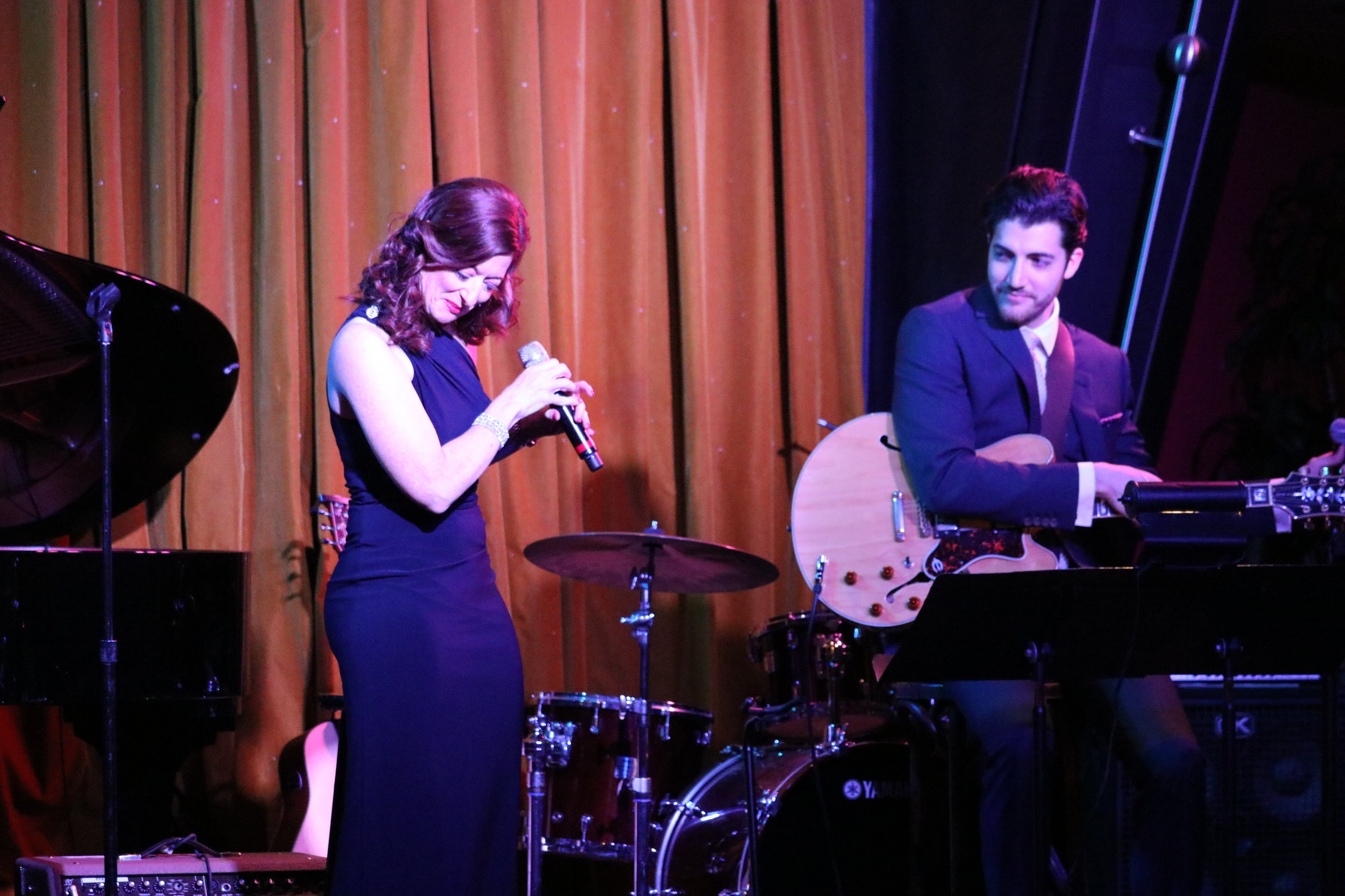performing with Lainie Munro