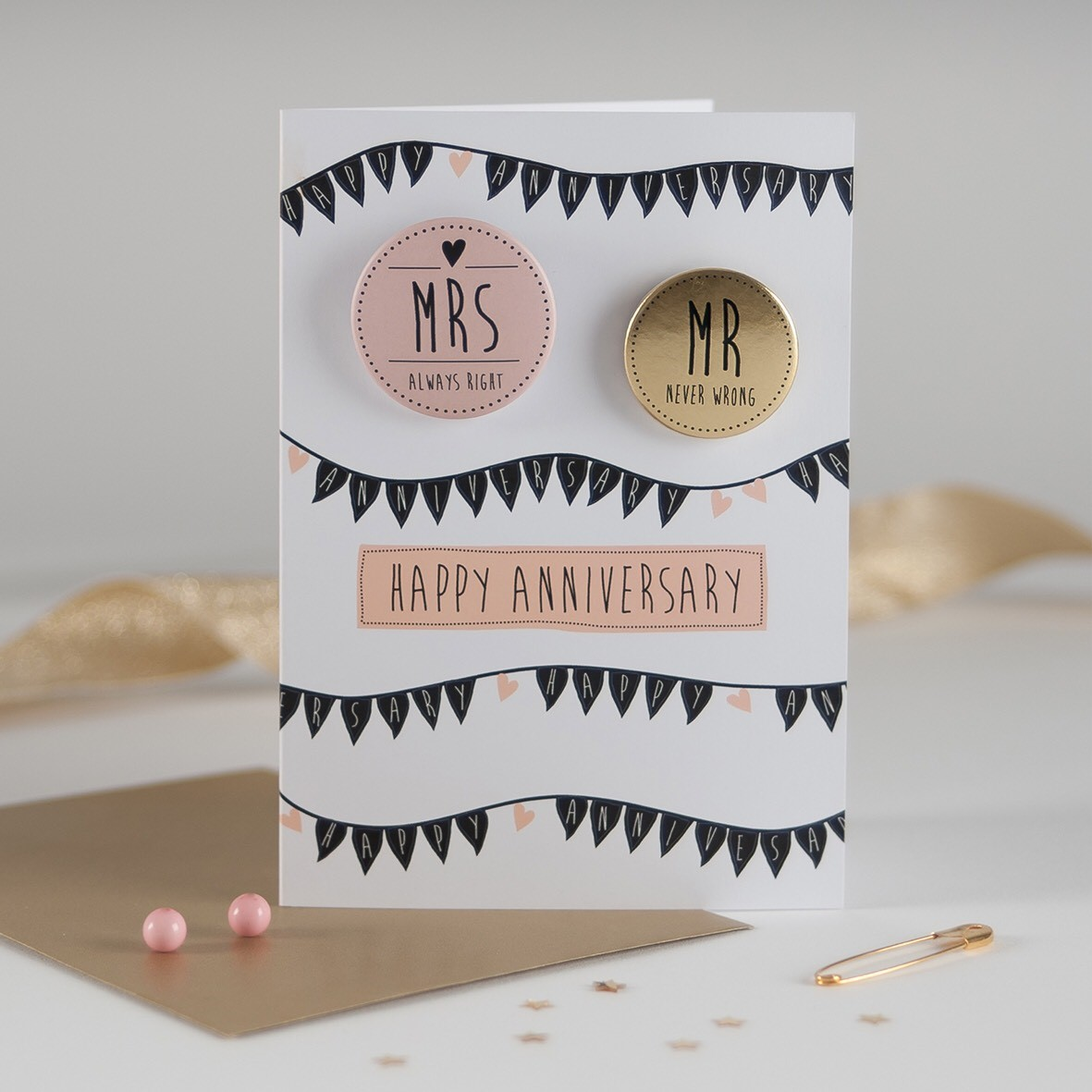 Anniversary Card by  Paper Sole