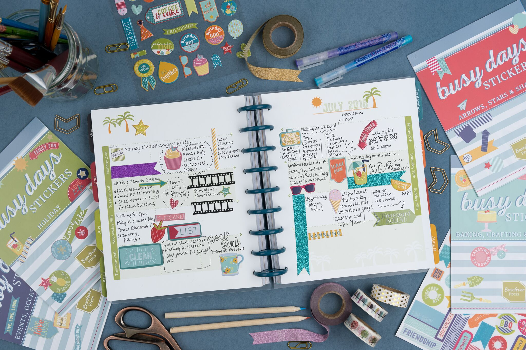 Busy Days Planner from Boxclever Press