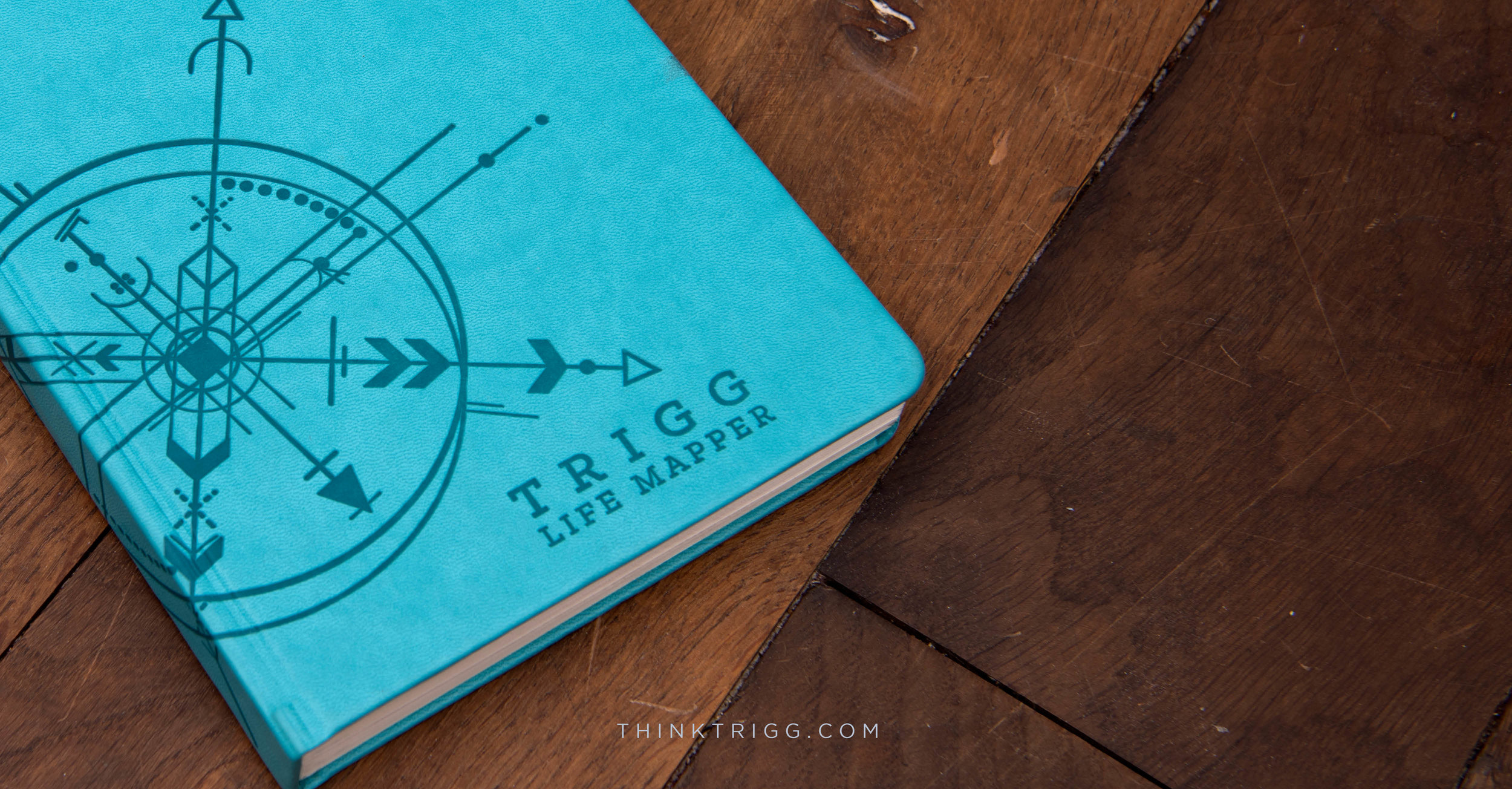 Trigg Life Mapper:'a productivity diary that transforms your goals into success... bringing planning, habit & mindfulness to a fresh journal format'