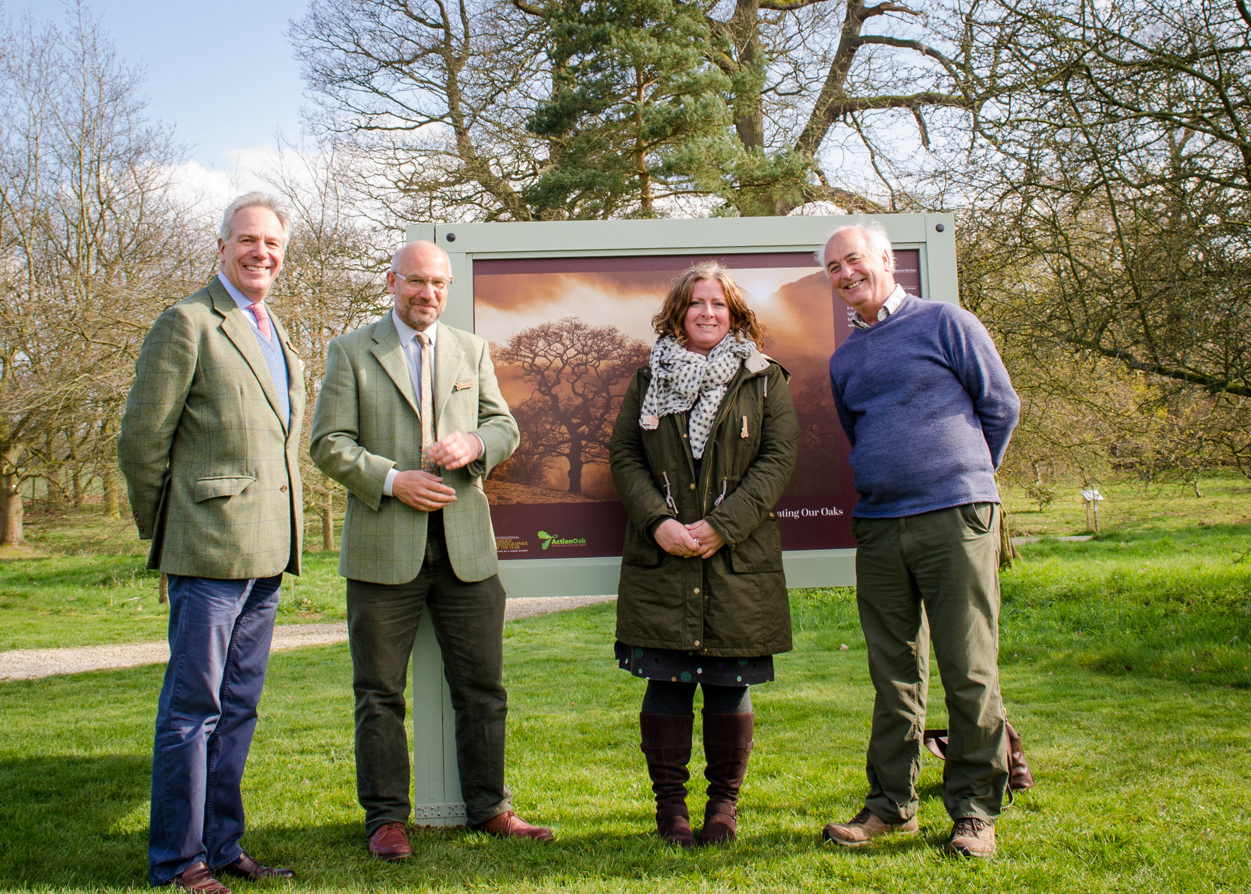 National Tree Champion Sir William Worsley Opens 'Celebrating our Oaks' Exhibition at the Yorkshire Arboretum