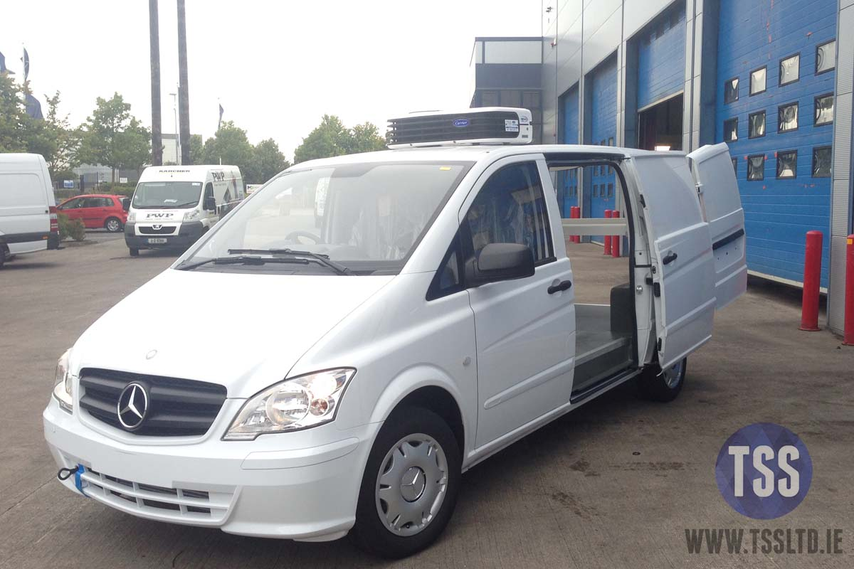 mercedes fridge van carrier tss