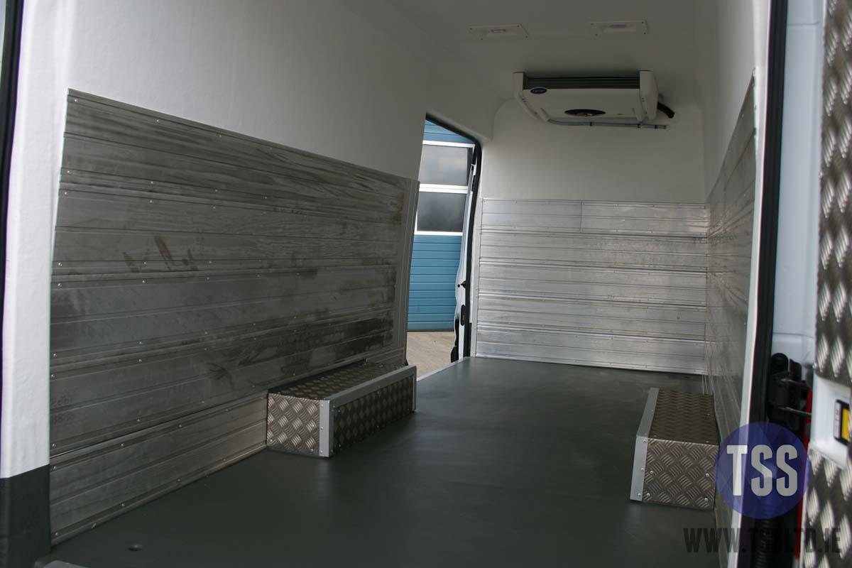 Copy of van insulation shelving