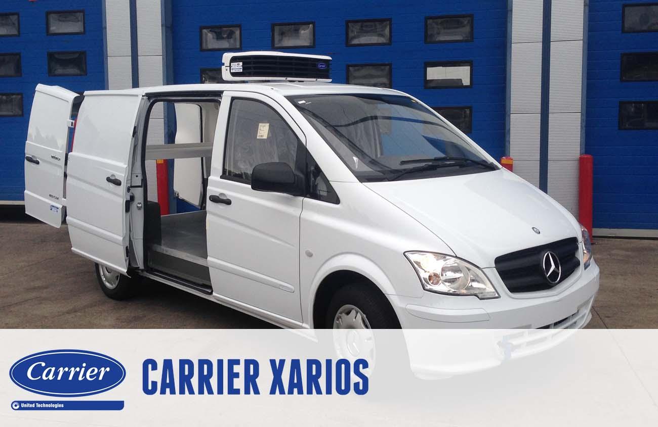 Modular range for vans and medium-sized refrigerated vehicles