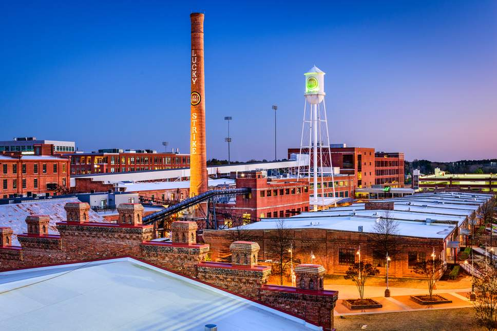 How Durham in North Carolina repurposed its disused tobacco trail and factories – A piece for The Independent