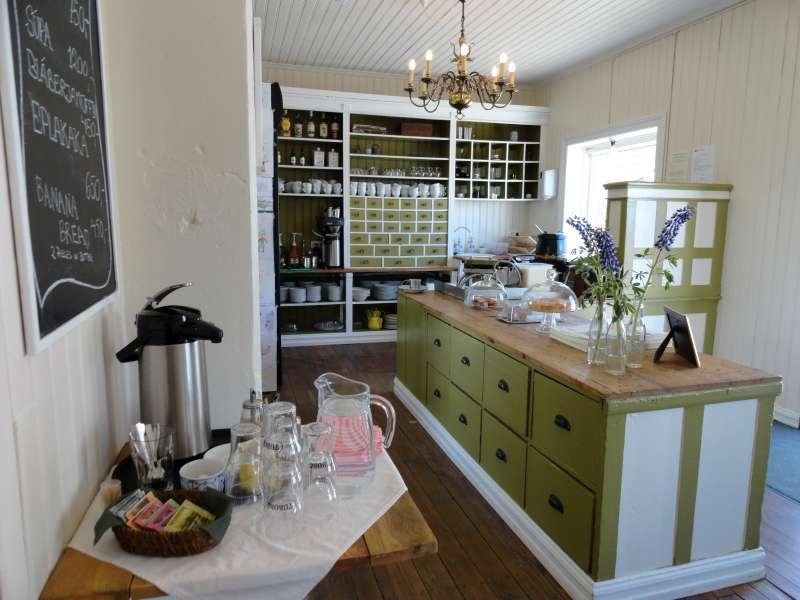 coffeehouse interior
