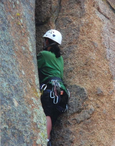 My First Trad Lead Climb at Cochise