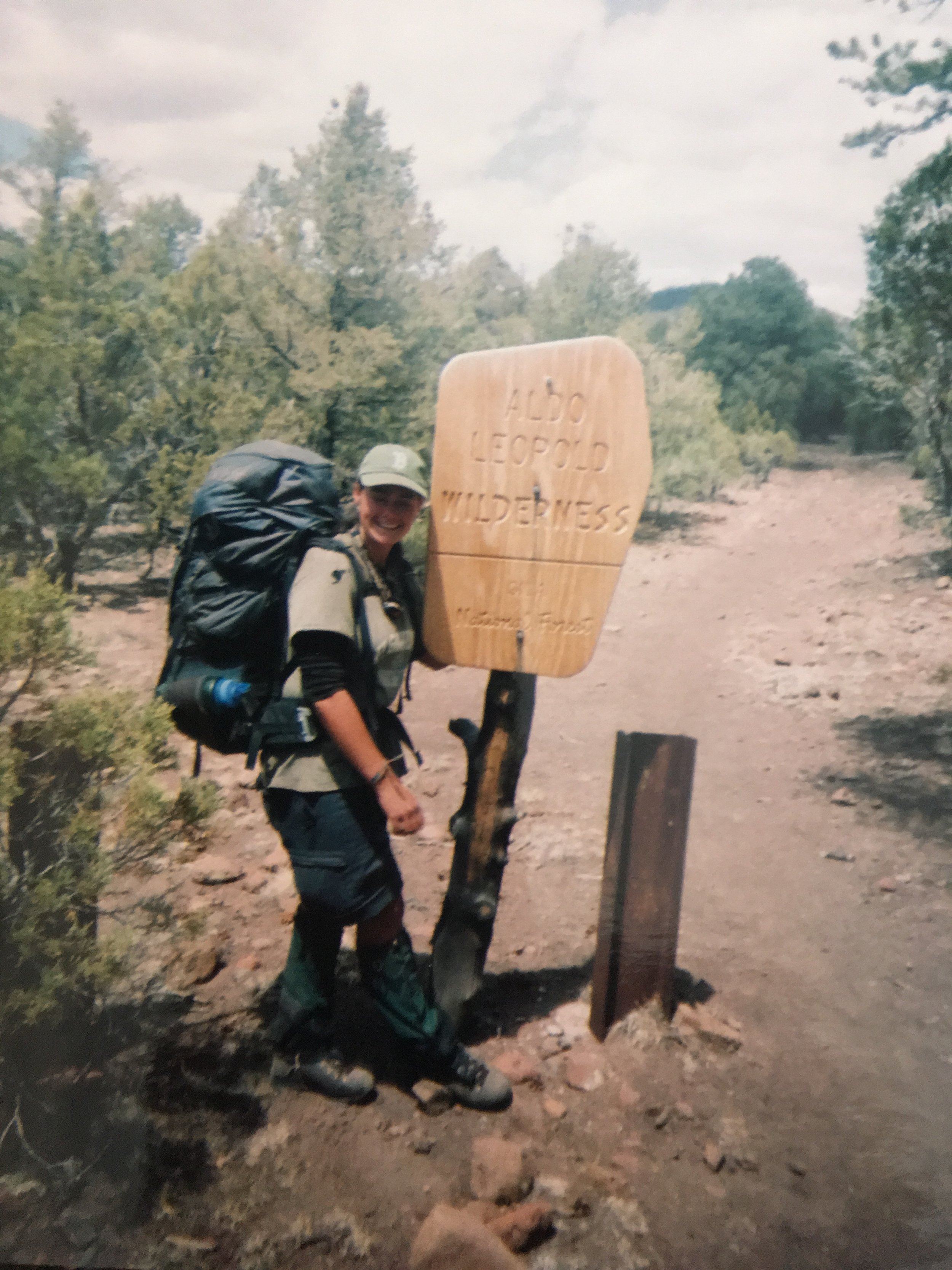 Backpacking in the Gila Wilderness, New Mexico around 2003