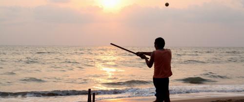 Olympic Beach Cricket The Huffington Post