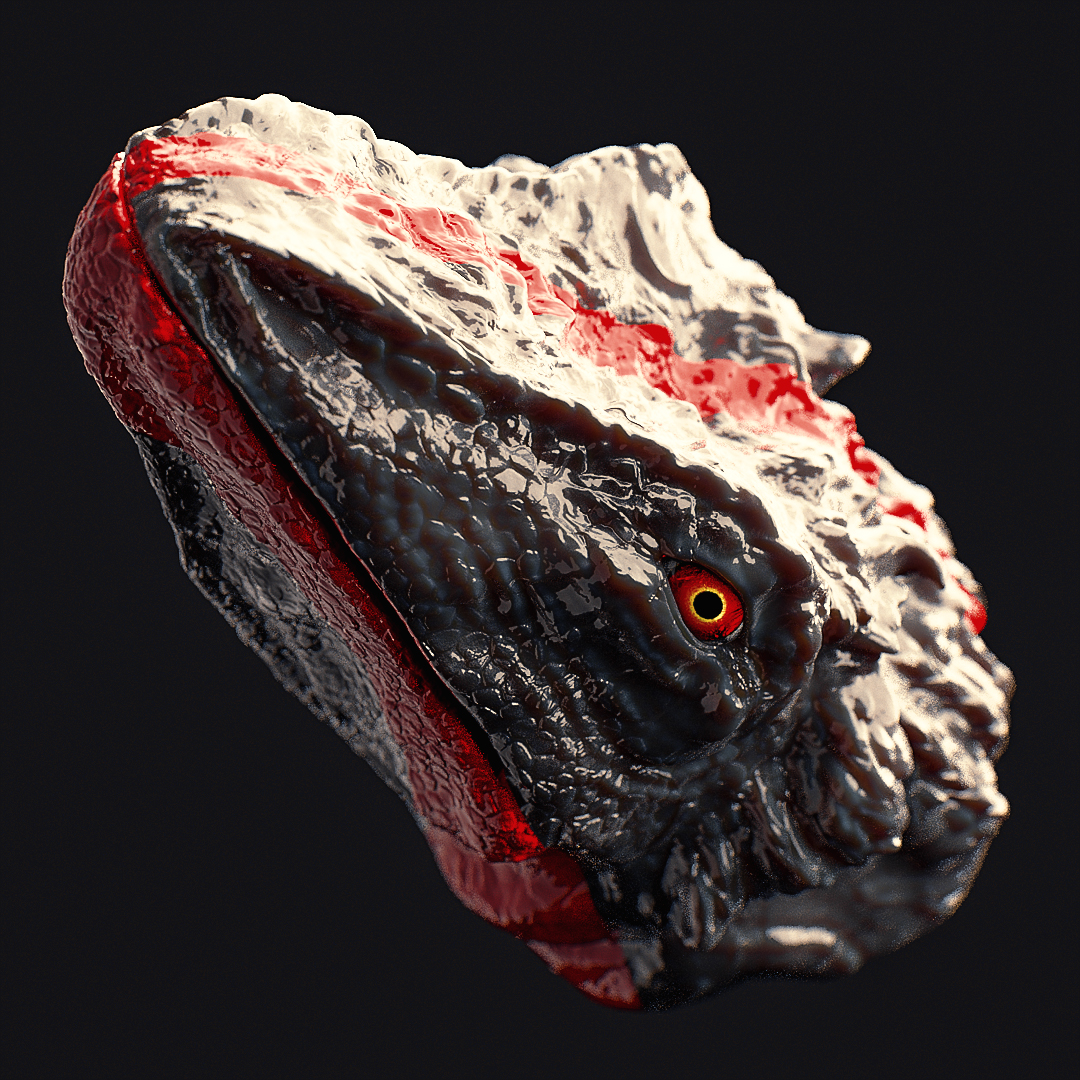 [18-01-17] - Iguana head