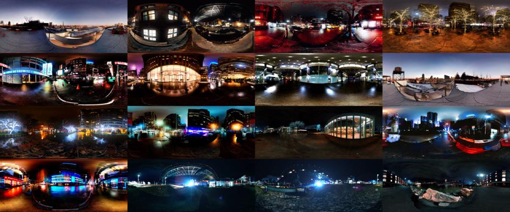HDRI collection Manhattan Nights Vol. 2 by nscr