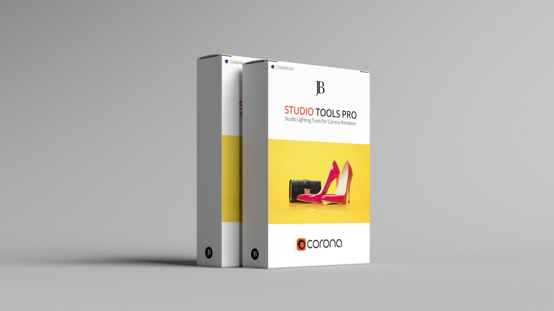 Corona Studio Tools Pro by Josef Bsharah