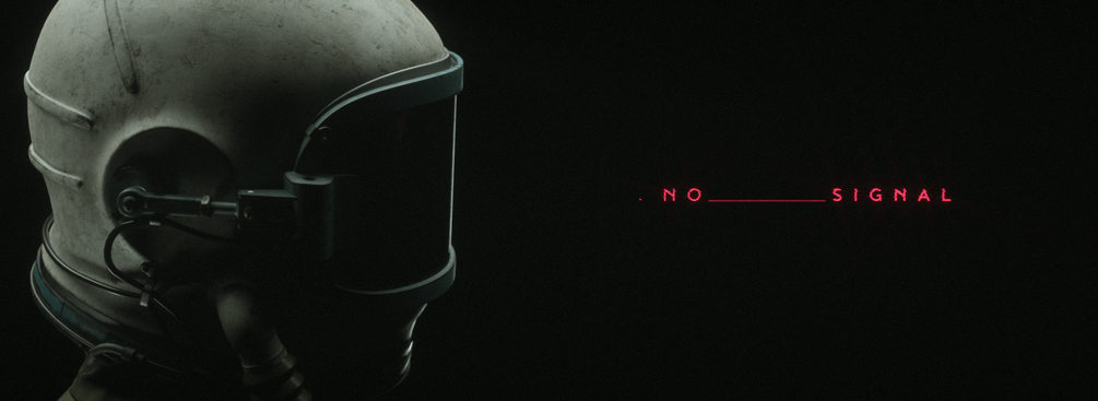 No Signal cosmonaut 3d model and resources by friendlyrobot
